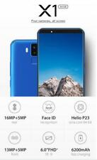 VERNEE X1 6+64GB Android 7.1 Octa Core 6.0''4 Cameras Face ID 6200mAh Smartphone