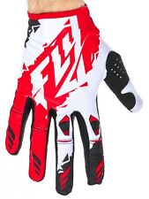 Guantes MX Fly Racing 2017 Kinetic Rojo-blanco