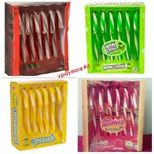 Flavored Holiday Edible Candy Canes HOT COCOA * REDHOT * LEMONHEAD * NOWANDLATER
