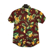 CHEMISE HAWAIENNE - ALOHA - FLEUR - SURF - HAWAIIAN TROPICAL ALOHA LOWERS SHIRT