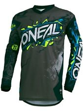 Camiseta de MX niño ONeal 2019 Element Villain Gris