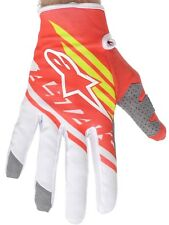 Guantes MX Alpinestars 2015 Supermatic Rojo-Fluorescent-blanco