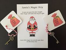 Santa's Magic Key - Christmas Eve Box Filler - Xmas Tradition - No Chimney