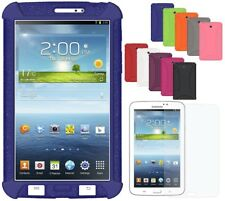 Amzer Soft Silicone Skin Fit Jelly Case Cover Galaxy Tab 3 7.0 GT-P3200 GT-P3210