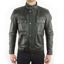 Belstaff Leather Brooklands Mojave motorcycle jacket - BLACK - ALL SIZES
