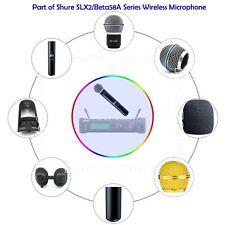 Mic Plastic Cover Kit with Capsule Grill Switch Button for shure SLX2 / Beta58A