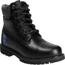 """Timberland Womens 6"""" Inch Premium Limited Edition Icon Boots Ice Black TB0A1Q84"""