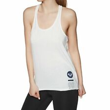 Roxy Play And Win B Womens Vest Tank - Marshmallow All Sizes