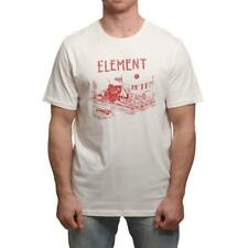 Element River Dreams Camiseta Hueso Blanco Element Ropa para Hombre Camisetas