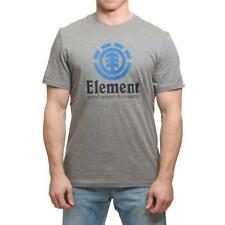 Element Vertical Camiseta Gris Brezo Element Ropa para Hombre Camisetas