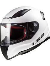 Casco moto LS2 2019 FF353 Rapid Solid-blanco