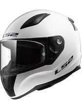 Casco moto infantil LS2 2019 FF353 Rapid Mini Solid-blanco