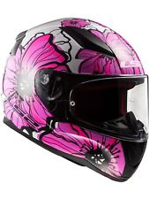 Casco moto LS2 2019 FF353 Rapid Poppies-rosado