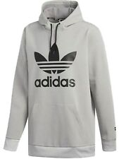 Sudadera con capucha de snowboard Adidas Team Tech Medium Gris Heather-negro