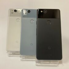GOOGLE PIXEL 2 64GB UNLOCKED Just Black / Clearly White / Kinda Blue Smartphone