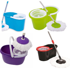 360 176 Spinning Rotating Spin Mop Bucket Microfiber Cleaning