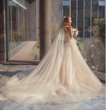 Romantic Cathedral  veil Soft Tulle Wedding Veil one Tier Bridal Veils With Comb
