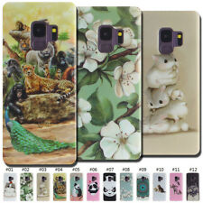 Gel Soft Rubber Back Skin TPU Cute Shell Painted Case Cover For Samsung Galaxy