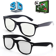 Real 3D IMAX Glasses Universal for Passive 3D TV Cinemas Movie Projector