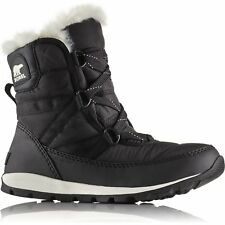 Sorel Whitney Short Lace Womens Boots - Black All Sizes