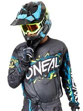 Camiseta de MX ONeal 2019 Element Villain Gris