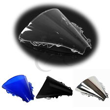 New Windshield Windscreen Dual Bubble For Yamaha YZF R6 YZF-R6 2006 2007 06 07