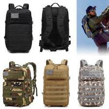 45L Waterproof Camo Military Tactical Pack Sports Backpack Camping Travel Bag