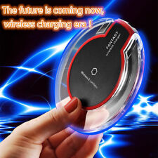Super Fast Wireless Charger Qi Charging Dock Pad For Huawei iPhone Samsung Nexus
