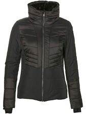 Chaqueta de snowboard para mujer ONeill Hybrid Crystaline Negro Out