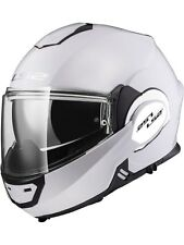 Casco convertible moto LS2 2019 FF399 Valiant Solid Blanco