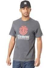 Camiseta Element FA18 Vertical Gris Heather