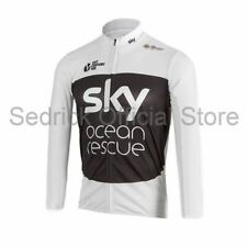072ca1483 Mens Oxylane Btwin Blue White Cycling Bike Jersey Tricot Maillot M ...