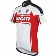 db1c1a543 Red white Cycling Jersey Shirt Retro Bike Ropa Ciclismo MTB Maillot