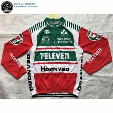 dcf9fb802 7 ELEVEN 11 RETRO Cycling BIKE Jersey Shirt Tricot Maillot LONG THERMAL