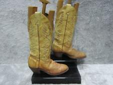 UNBRANDED WOMENS COWBOY / WESTERN BOOTS SIZE 5 WELL WORN CONDITION REF 5381