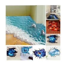 3D Wall Stikers Floor Wall Stickers Removable Mural Decals Vinyl Art Room Decor