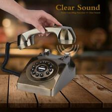 Style Vintage Antique Telephone Numbers Storage Rotary Dial Retro Telephone
