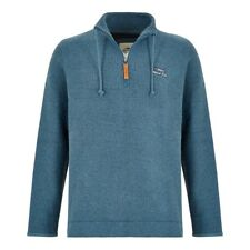 Weird Fish - Men's - Skipper Macaroni - 1/4 Zip - Ensign Blue