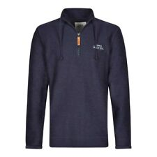 Weird Fish - Men's - Skipper Macaroni - 1/4 Zip - Maritime Blue
