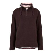 Weird Fish - Women's - Constantine Macaroni - 1/4 Zip - Mulled Wine