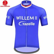 Willem Grzelle Rétro Bicicletta Maglia Tricot Maillot