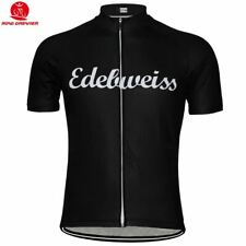 Edelweiss Rétro Bicicletta Maglia Tricot Maillot