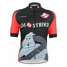 GHOST BUSTERS GHOSTBIKES Cycling Jersey Shirt Retro Bike Ropa Ciclismo  Mailliot 2bd919617