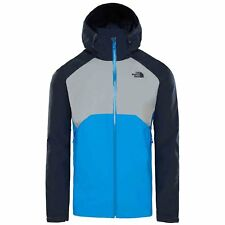 The North Face Stratos Homme Veste Imperméables - Bomber Blue Mid Grey Urban