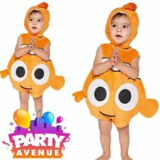 Official Disney Finding Nemo Baby Toddler Fancy Dress Tabard Costume