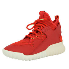 newest 4be35 3639d Adidas Originals TUBULAR X CNY Chaussures Mode Sneakers Homme Rouge