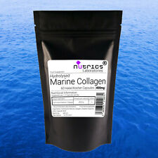 Nutrics® 100% PURE MARINE COLLAGEN 400mg Capsules Anti Wrinkle Wholesale Bulk