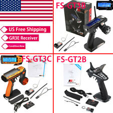 Receiver Transmitter GT2B GT3C GT3B  For RC Car New 2.4G 3CH System Parts