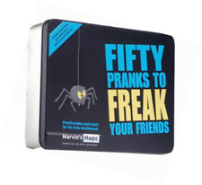 Marvin's Magic Fifty Pranks to Freak Your Friends  Practical Joke and Trick Set