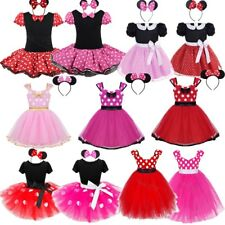 Cartoon Mouse Tutu Ballet Dress for Baby Girls Birthday Princess Outfits Costume
